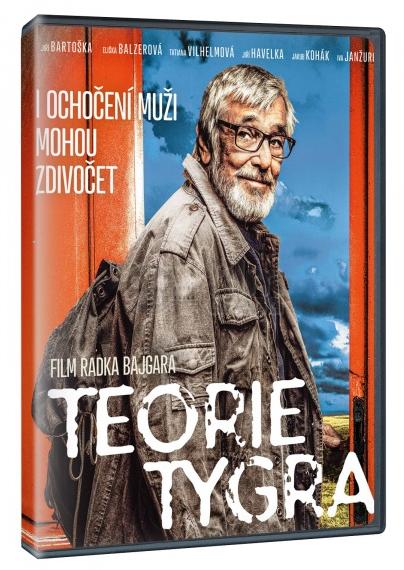 DVD Teorie tygra - Radek Bajgar