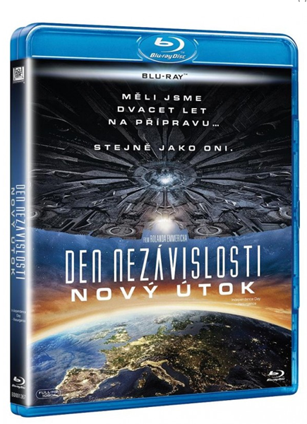 Den nezávislosti : Nový útok Blu-ray - Roland Emmerich