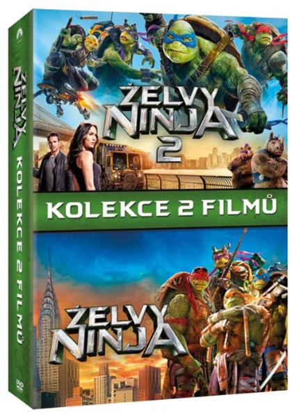 Želvy Ninja kolekce 2 DVD - Dave Green