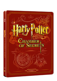Harry Potter a tajemná komnata Blu-ray +DVD bonus - steelbook