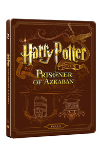 Harry Potter a vězeň z Azkabanu Blu-ray +DVD bonus - steelbook