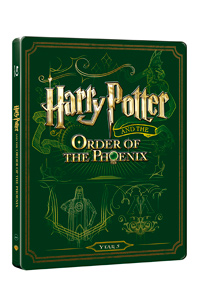 Harry Potter a Fénixův řád Blu-ray + DVD bonus - steelbook