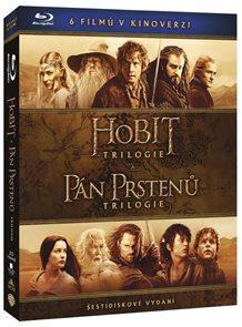 Kolekce Středozemě 6 Blu-ray