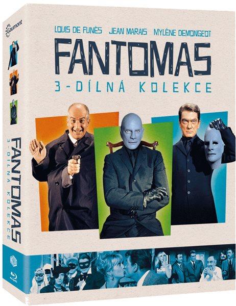 Kolekce Fantomas 3 Blu-ray