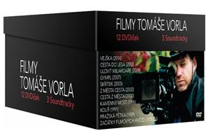 Filmy Tomáše Vorla kolekce 12 DVD + 3 soundtracky