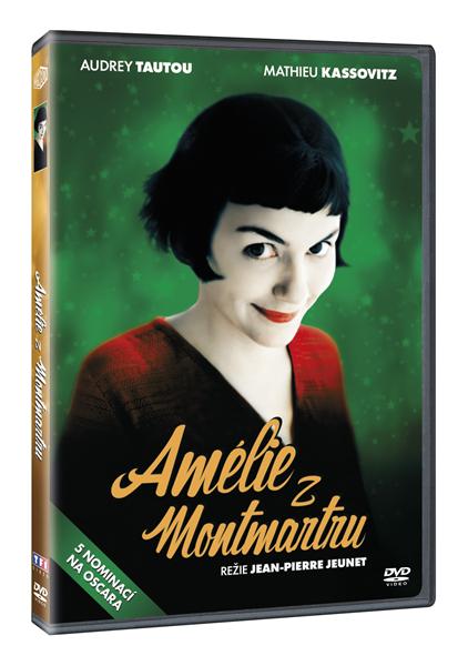 DVD Amélie z Montmartru - Jean-Pierre Jeunet - 13x19 cm