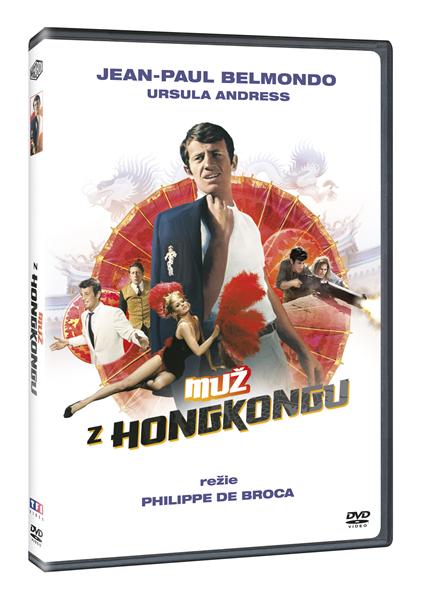 DVD Muž z Hongkongu - Philippe de Broca - 13x19 cm