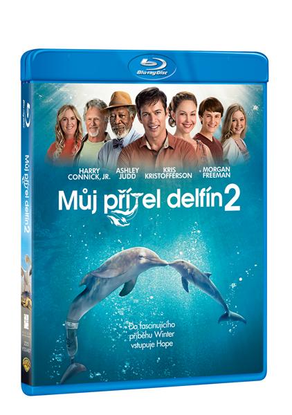 Můj přítel delfín 2 Blu-ray - Charles Martin Smith - 13x17 cm
