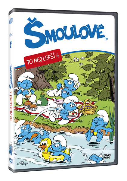 DVD Šmoulové - To nejlepší 4 - 13x19 cm