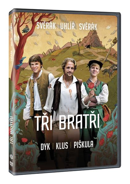 DVD Tři bratři - Jan Svěrák - 13x19 cm