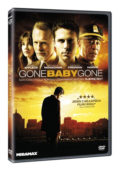 DVD Gone, Baby, Gone - Ben Affleck - 13x19 cm