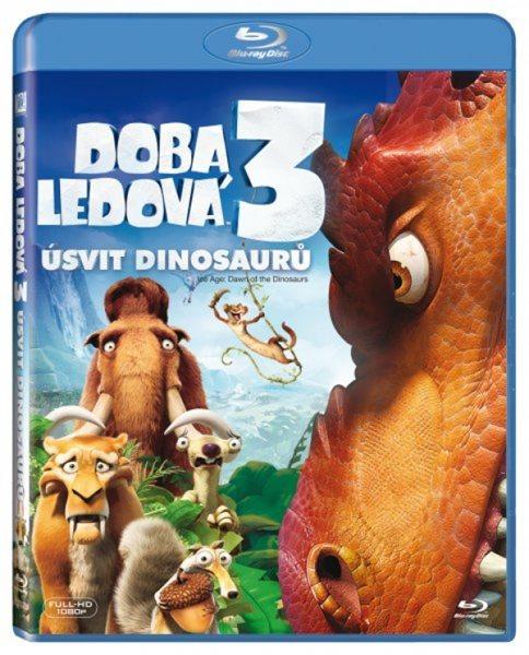 Doba ledová 3 - Úsvit dinosaurů Blu-ray - Carlos Saldanha - 13x17 cm