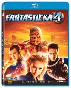 Fantastická čtyřka Blu-ray