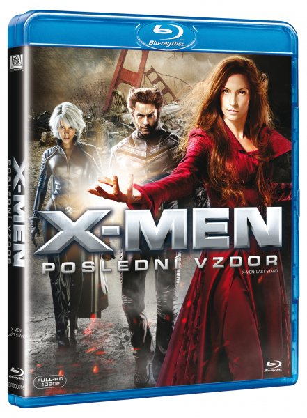 X-Men: Poslední vzdor Blu-ray - Brett Ratner - 13x17 cm