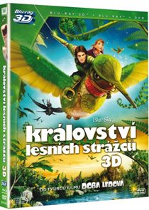 Království lesních strážců Blu-ray 3D + BD + DVD