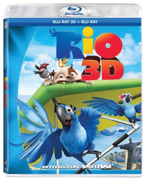 Rio Blu-ray 3D - John Powell - 13x17 cm