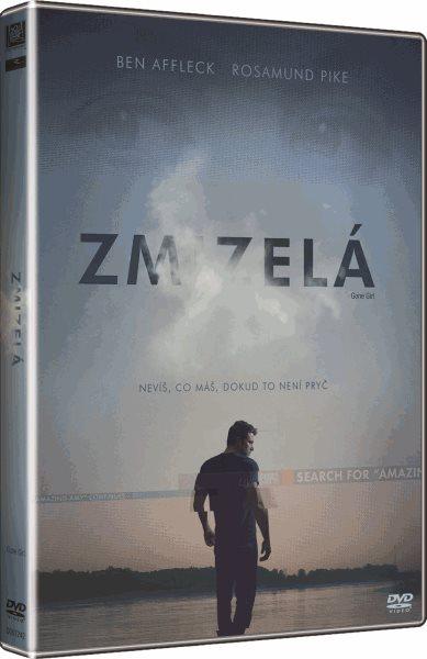 DVD Zmizelá - David Fincher - 13x19 cm