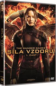 DVD Hunger Games: Síla vzdoru 1. část