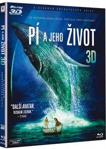 Pí a jeho život Blu-ray 3D + 2D