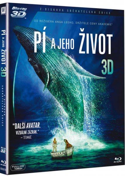 Pí a jeho život Blu-ray 3D + 2D - Ang Lee - 13x17 cm