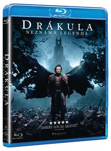 Drákula: Neznámá legenda Blu-ray