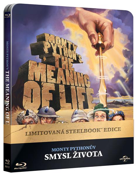 Monty Pythonův smysl života Blu-ray Steelbook - Terry Gilliam, Terry Jones - 13x17 cm