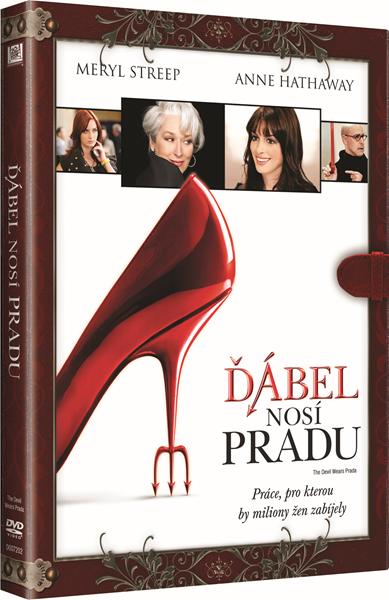 DVD Ďábel nosí Pradu - David Frankel - 13x19 cm
