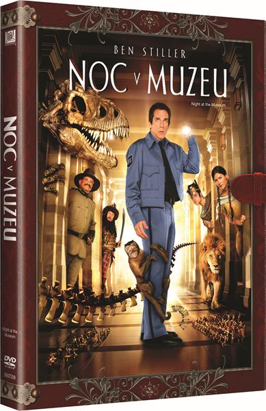 DVD Noc v muzeu - Shawn Levy - 13x19 cm