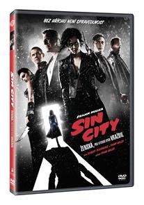 DVD Sin City: Ženská, pro kterou bych vraždil