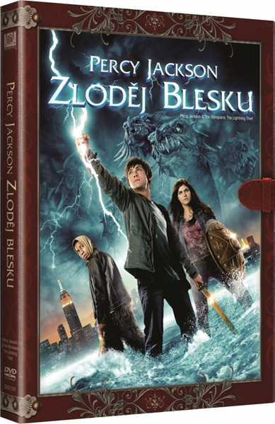 DVD Percy Jackson: Zloděj blesku - Chris Columbus - 13x19 cm