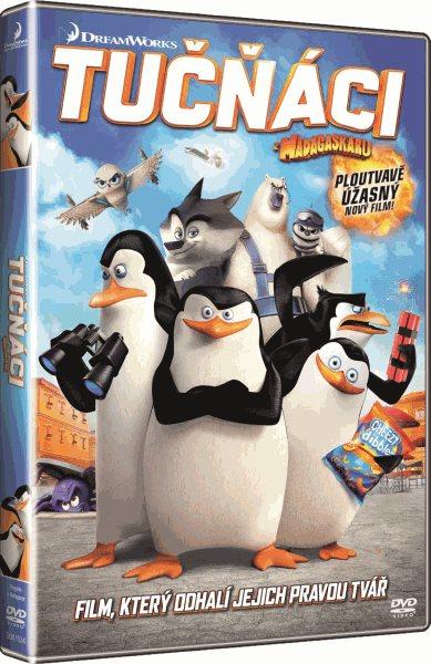 DVD Tučňáci z Madagaskaru - Eric Darnell, Simon J. Smith - 13x19 cm