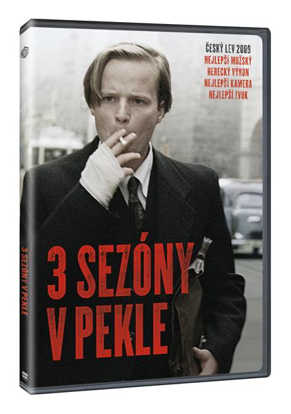 DVD 3 sezóny v pekle - Tomáš Mašín - 13x19 cm