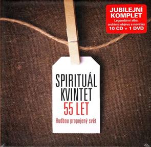 CD Spirituál kvintet - 55 let Jubilejní komplet
