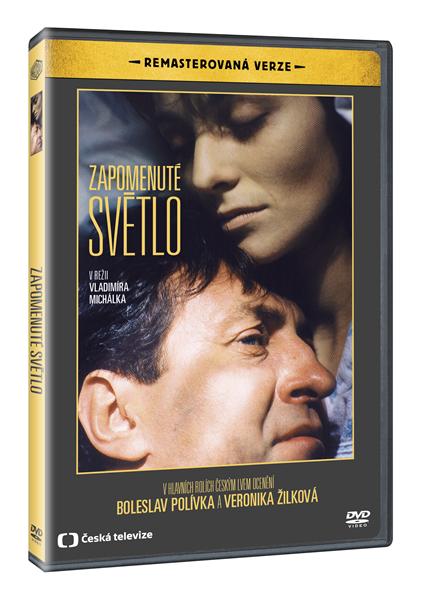 DVD Zapomenuté světlo ( remasterovaná verze ) - Vladimír Michálek - 13x19 cm