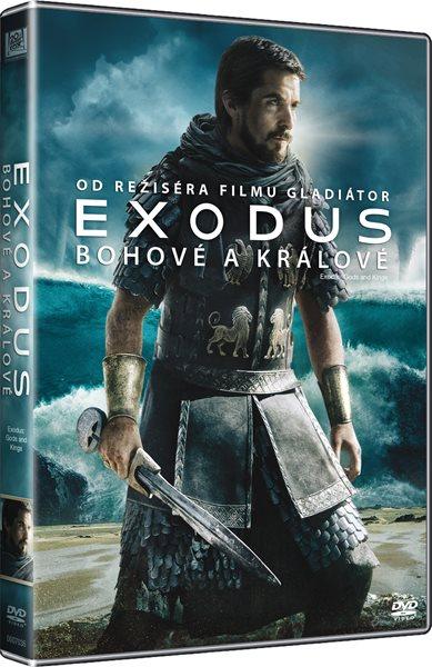 DVD EXODUS: Bohové a králové - Ridley Scott - 13x19 cm