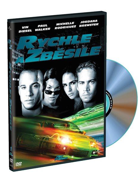 DVD Rychle a zběsile - Rob Cohen - 13x19 cm