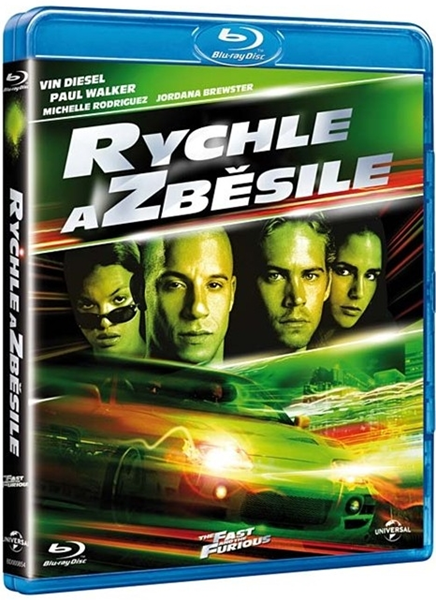 Rychle a zběsile Blu-ray - Rob Cohen - 13x17 cm