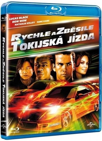 Rychle a zběsile: Tokijská jízda Blu-ray - Justin Lin - 13x17 cm