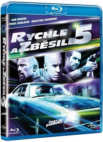 Rychle a zběsile 5 Blu-ray - Justin Lin - 13x17 cm
