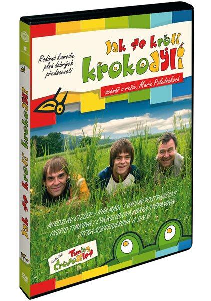 DVD Jak se krotí krokodýli - Marie Poledňáková - 13x19 cm