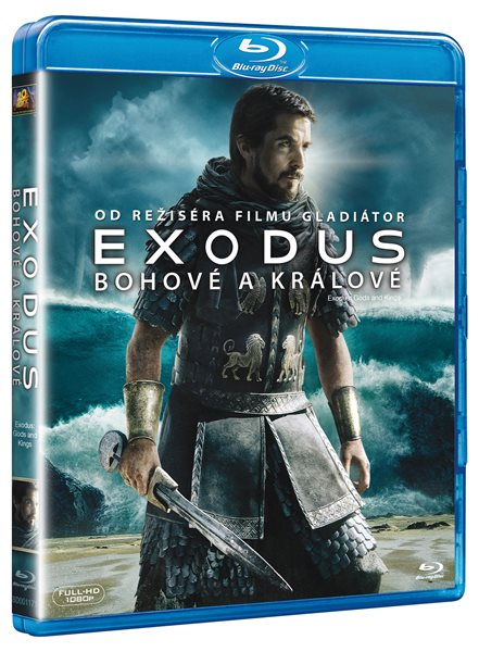 EXODUS: Bohové a králové Blu-ray - Ridley Scott - 13x19 cm