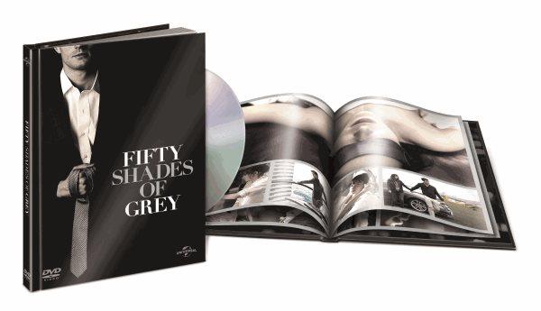 DVD Padesát odstínů šedi ( DigiBook ) - 13x19 cm