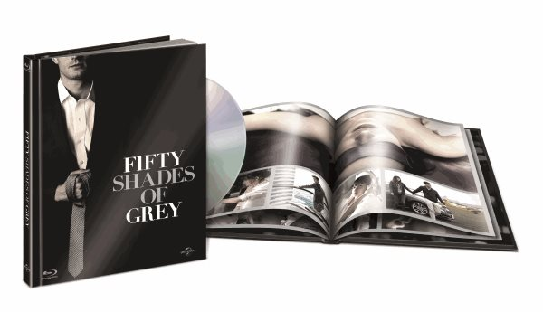 Padesát odstínů šedi Blu-ray ( DigiBook ) - Sam Taylor-Johnson - 13x17 cm