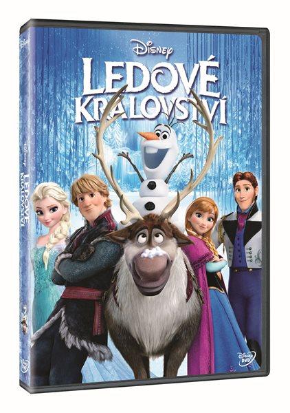 DVD Ledové království - Chris Buck, Jennifer Lee - 13x19 cm