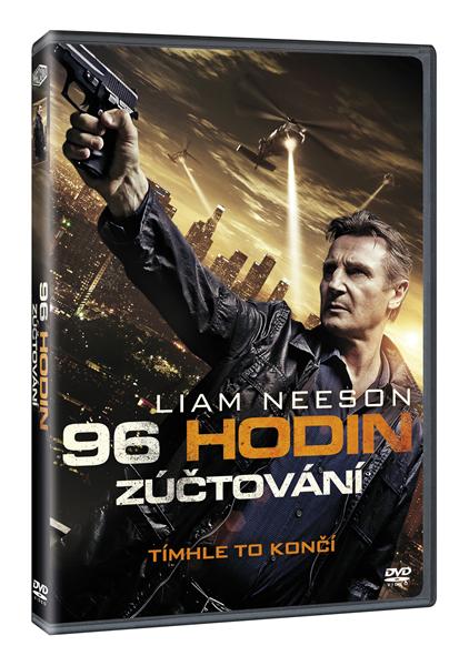 DVD 96 hodin: Zúčtování - Olivier Megaton - 13x19 cm