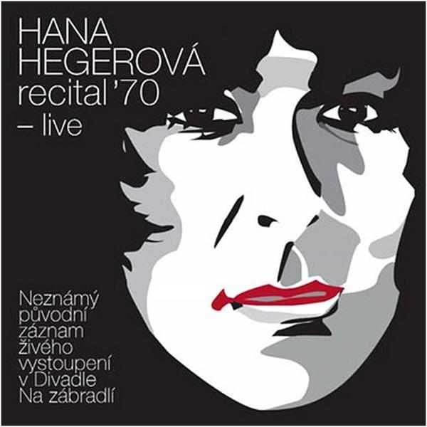 CD Hana Hegerová - Recital '70 - live - 13x14 cm