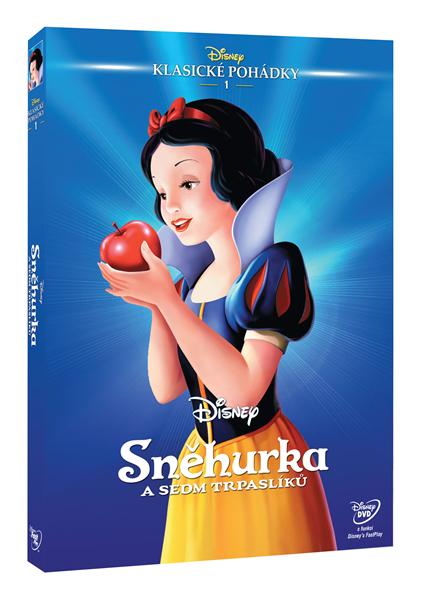 DVD Sněhurka a sedm trpaslíků - 13x19 cm