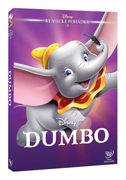 DVD Dumbo - Ben Sharpsteen - 13x19 cm