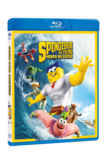 SpongeBob ve filmu: Houba na suchu Blu - ray - Paul Tibbitt - 13x17 cm