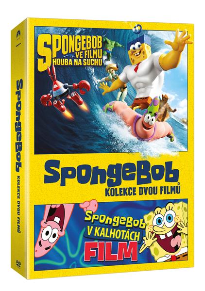 DVD SpongeBob kolekce - Stephen Hillenburg, Paul Tibbitt - 13x19 cm